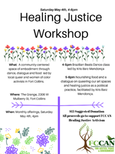 May Healing Justice Workshop @ The Grange | Fort Collins | Colorado | United States