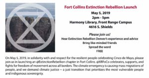 Extinction Rebellion Fort Collins Launch @ Harmony Library  | Fort Collins | Colorado | United States